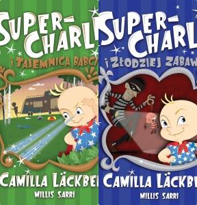 Super-Charlie i złodziej zabawek. Super-Charlie i tajemnica babci - Camilla Läckberg