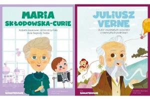 Moi Bohaterowie.Maria Skłodowska-Curie/Juliusz Verne - Victor Lloret Blackburn, Wuji House,  Bonalletra Alcompas