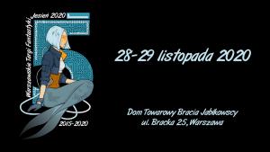 Warszawskie Targi Fantastyki. Jesień 2020 -