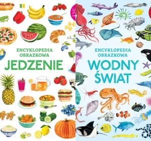 Encyklopedia obrazkowa. Jedzenie. Wodny świat - Jessica Greenwell