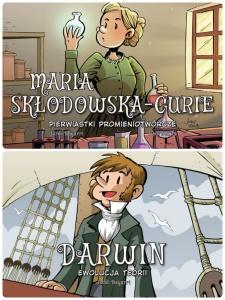 Najwybitniejsci Naukowcy. Maria Skłodowska-Curie. Pierwiastki promieniotwórcze. Darwin. Ewolucja teorii - Jordi Bayarri