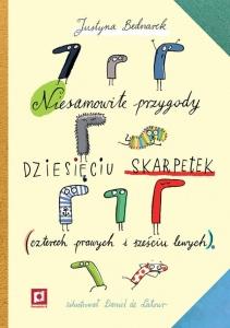 Niesamowite przygody dziesięciu skarpetek (czterech prawych i sześciu lewych)  - Justyna Bednarek