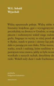 Wyjechali - W.G. Sebald