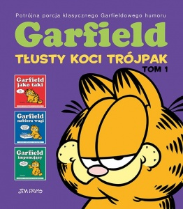 Garfield. Tłusty koci trójpak. Tom 1 - Jim Davis