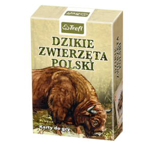 Dzikie Zwierzęta Polski. Karty do gry -