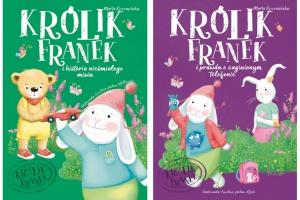 Królik Franek i prawda o zaginionym telefonie, Królik Franek i historia nieśmiałego misia - Marta Krzemińska