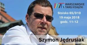Szymon Jędrusiak na Warszawskich Targach Książki - Warszawskie Targi Książki