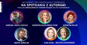 Wydawnictwo Zwierciadło na Warszawskich Targach Książki -
