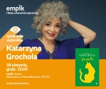Spotkanie z Katarzyną Grocholą -
